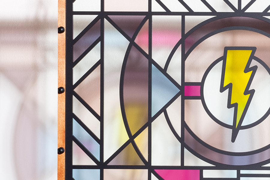 Studio Ruwedata - Default - modern stained glass artwork