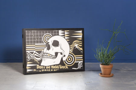 Studio Ruwedata - dont be held back - lightbox artwork
