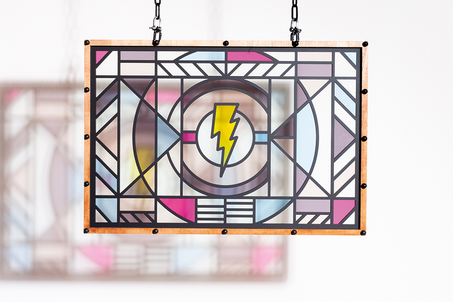 Studio Ruwedata - modern stained glass artwork