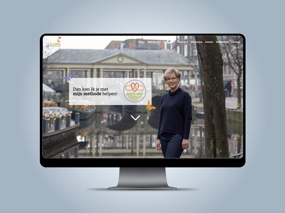 Website - Lia Vlaming Kindercoaching